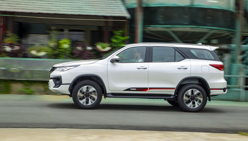 Ngoai that Toyota Fortuner